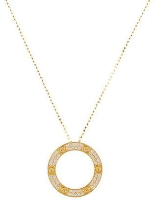 Cartier LOVE Diamond Necklace
