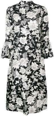 DAY Birger et Mikkelsen La Doublej floral print flared dress