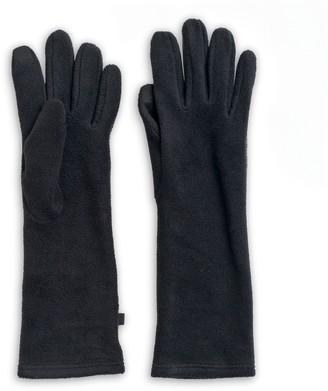 Cuddl Duds Women's Long Fleece Tech Gloves