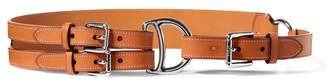 Ralph Lauren Tri-Strap Leather Belt