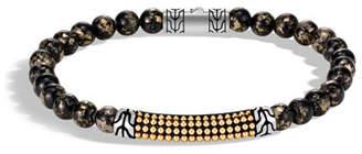 John Hardy Men's Classic Chain 18-Karat Gold Bead Bracelet