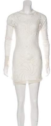 Jean Paul Gaultier Soleil Lace Mini Dress