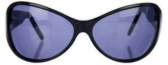 CNC Costume National Tinted Rectangular Sunglasses