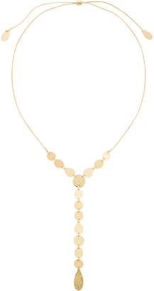 Fragments for Neiman Marcus Ombre Glitter Disc Y-Necklace