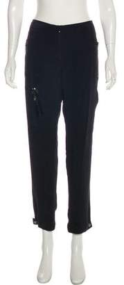 Magaschoni Silk Straight-Leg Pants