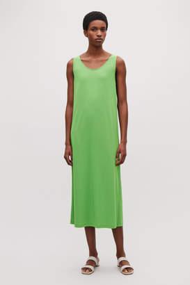 Cos KEYHOLE-BACK JERSEY DRESS