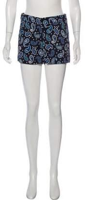 Stella McCartney Paisley Mini Shorts