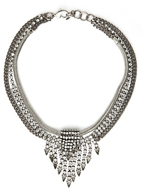 Camilla James Jasmine Crystal Necklace