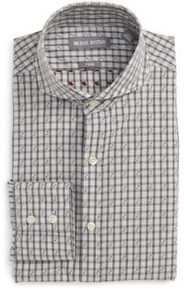 Michael Bastian Trim Fit Check Dress Shirt