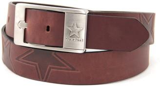 Men's Dallas Cowboys Brandish Leather Belt