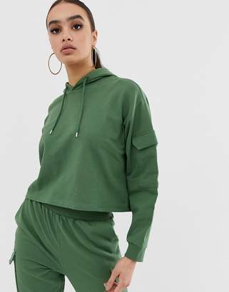 Asos Design DESIGN co-ord hoodie with utility pockets