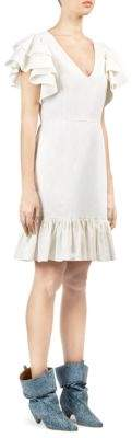 Stella McCartney Ruffle-Sleeve Dress