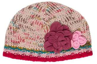 Catimini Girls' Knit Appliqué Beanie