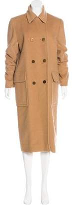 Hermes Long Camel Coat