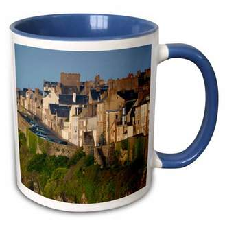 Walter 3drose 3dRose France, Normandy, Granville, Haut Ville - EU09 WBI4127 Bibikow - Two Tone Blue Mug, 11-ounce