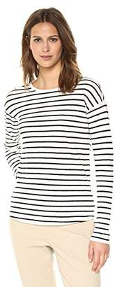 Theory Women's Long Sleeve Relaxed Crewneck T-Shirt
