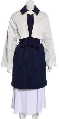 See by Chloe Quilted Knee-Length Coat