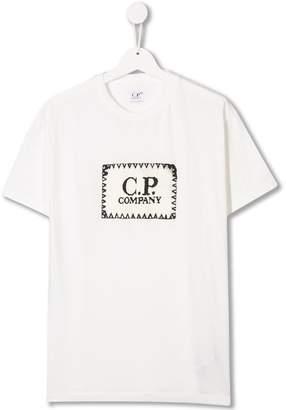 C.P. Company Kids logo printed T-shirt
