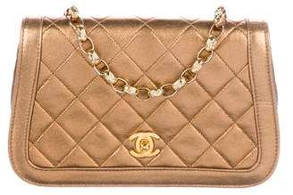 Chanel Metallic CC Flap Bag