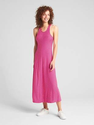 Gap Softspun Twist-Back Midi Tank Dress