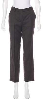 Hache Virgin Wool Straight-Leg Pants