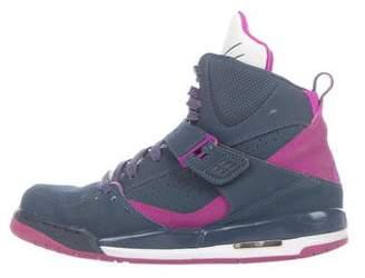 Nike Jordan Boys' Flight 45 High Ip Suede Sneakers