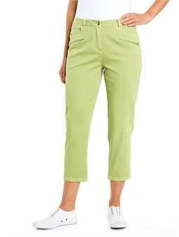 Yarra Trail Panelled Crop Jean