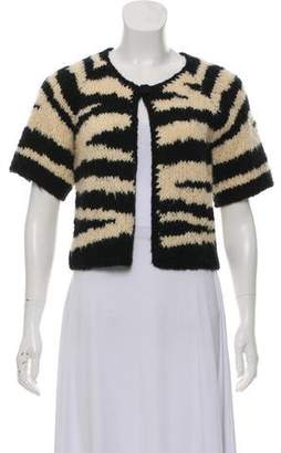Mayle Wool-Blend Short Sleeve Cardigan