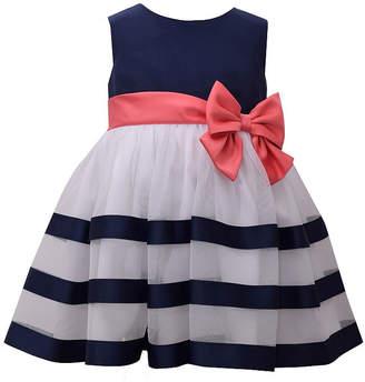 bd5f251e45 Bonnie Jean Sleeveless Striped A-Line Dress - Baby Girls