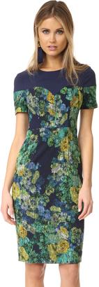 Black Halo Marlowe Sheath Dress $375 thestylecure.com