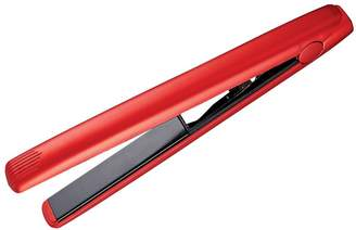 Tool Science Travel Size Metallic Red Styling Iron with Long Plates