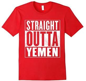 Yemen T-Shirt - STRAIGHT OUTTA YEMEN Shirt