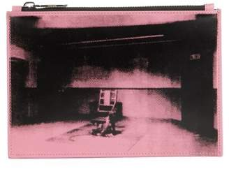 Calvin Klein x Andy Warhol Foundation Electric Chair Leather Pouch