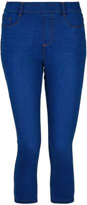 Dorothy Perkins Womens Bright Blue 'Eden' Super Soft Cropped Jeggings