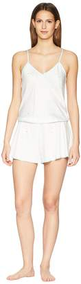 Kate Spade Gold Dot Satin Romper Women's Jumpsuit & Rompers One Piece
