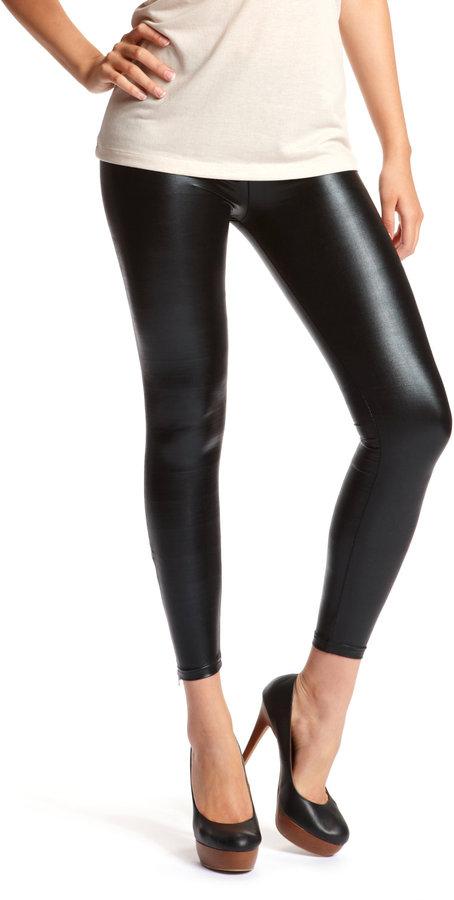 Ankle-Zip Liquid Legging