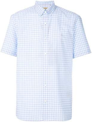 Burberry checked design shirt