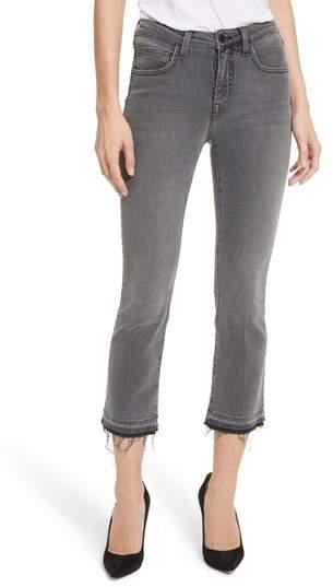 Serena High Waist Crop Flare Jeans
