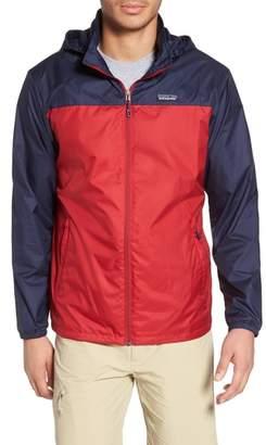 Patagonia Light & Variable(TM) Wind & Water Resistant Hooded Jacket