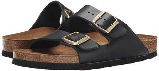 Birkenstock - Arizona Soft Footbed Women's Toe Open Shoes $135 thestylecure.com