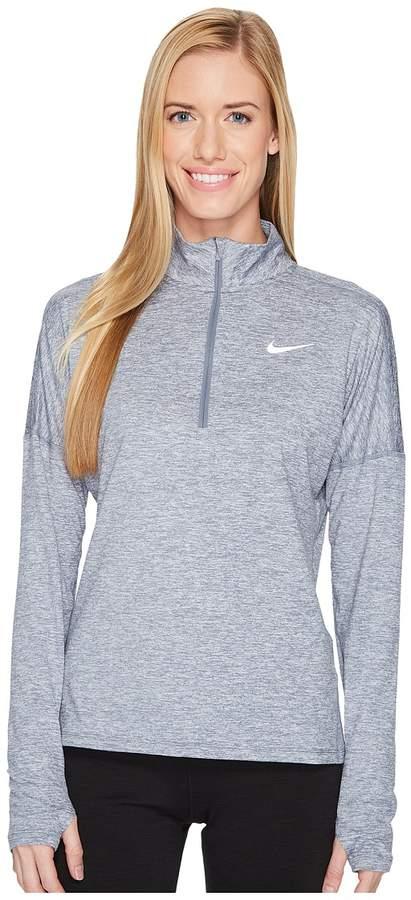 Nike - Dry Element 1/2 Zip Running Top Women's Long Sleeve Pullover