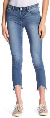 Articles of Society Carly Fray Hem Skinny Jeans