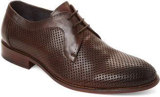 Hart Schaffner Marx Brown Long Beach Perforated Oxfords