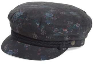 Brixton Fiddler Floral Baker Boy Cap
