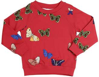 Mini Rodini Butterflies Organic Cotton Sweatshirt