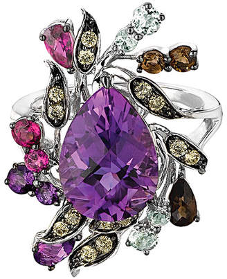 LeVian Le Vian 14K 7.25 Ct. Tw. Diamond & Gemstone Ring