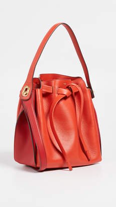Anya Hindmarch Shoelace Drawstring Small Bucket Bag