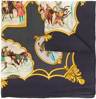 Hermes Pre-Owned Le Chevaux de Moghols scarf
