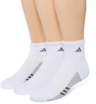 adidas Mens 3-pk. climacool Superlite Quarter Socks