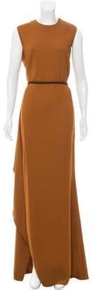 Lanvin 2015 Belted Maxi Dress